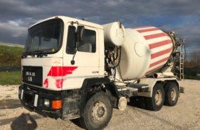 Man 33 292 con betoniera Cifa