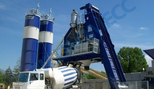 Impianto mobile di betonaggio Euromecc