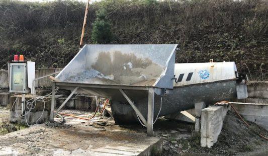 Impianto di riciclaggio e recupero del calcestruzzo BETONWASH 10