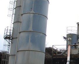Silos per cemento marca Euromecc Cifa