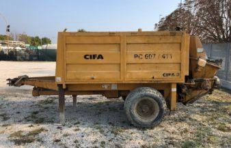 POMPA CARRELLATA CIFA PC 607/411