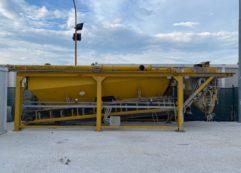 Impianto di betonaggio mobile marca Euromecc