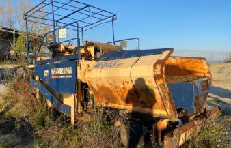 Vibro Finitrice Marini MF665 WD per lavori edili/stradali