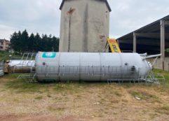 2 silos per calcestruzzo Imer