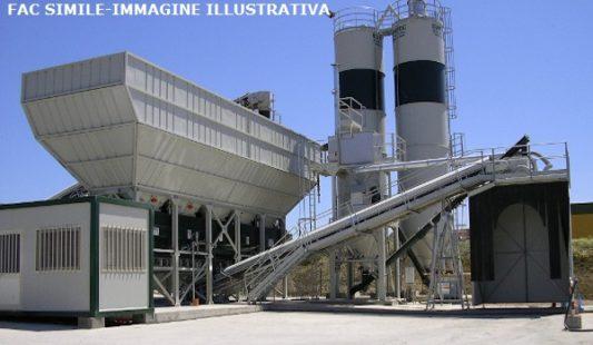 Impianto di betonaggio marca Euromecc
